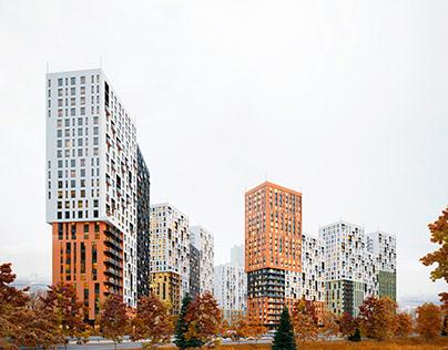 Housing district concept