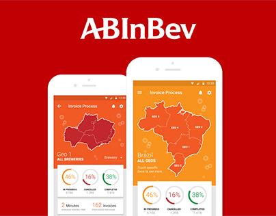 AB InBev - Invoice Dashboard App