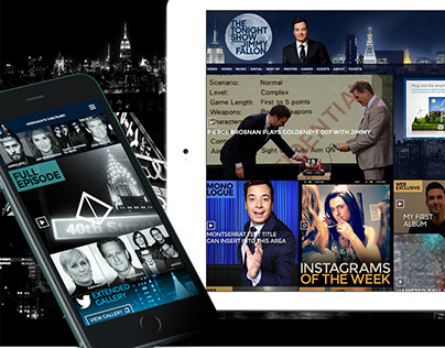 THE TONIGHT SHOW DIGITAL EXPERIENCE