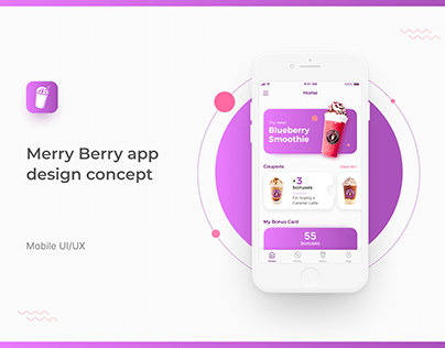 Merry Berry — Mobile App Design Concept
