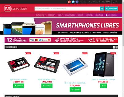 Ecommerce R&R - Brand Design UX/UI
