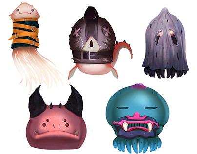 MOBS - Creature Design