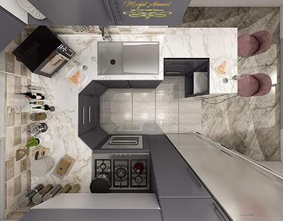 my kitchen  area 2.20*2.70