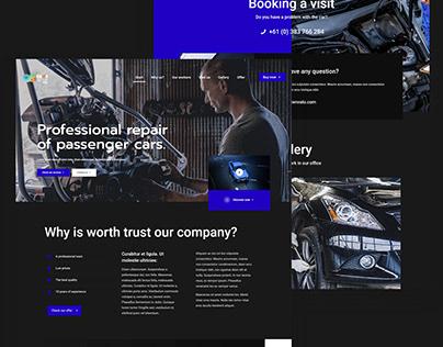 Repair Cars - Responsive WordPress Website Development