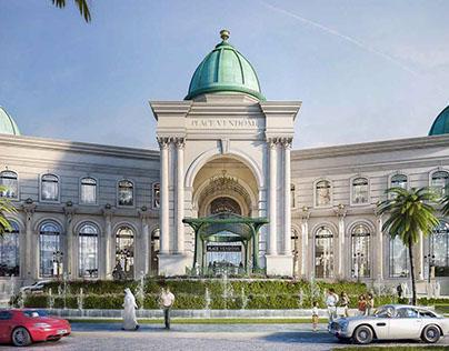 Place Vendôme, Qatar / Art direction