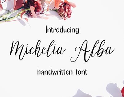 Michelia Alba - Modern Script Font