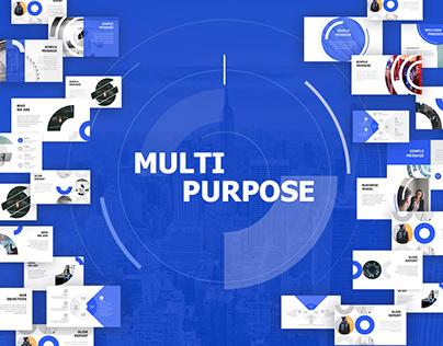 Multipurpose Presentation template