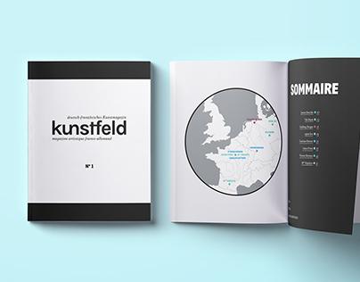 Kunstfeld – magazine artistique franco-allemand