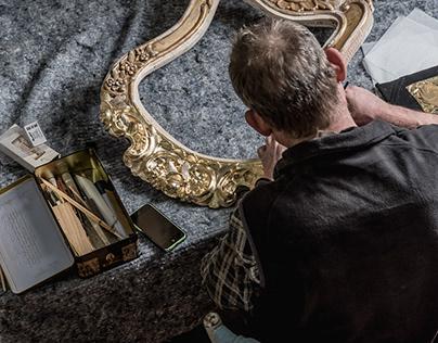 Everyday life of furniture restoration workshop. Part I