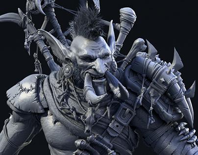 Troll Character Model
