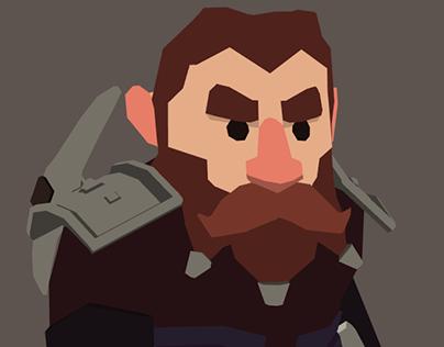 Brandegrum, Dwarf Rogue
