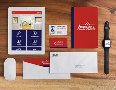 Branding: Americana Maid Services