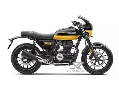 Honda CB350 RS Cafe