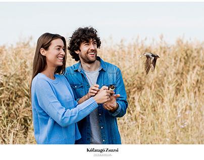 Gárdony tourism campaign photoshoot