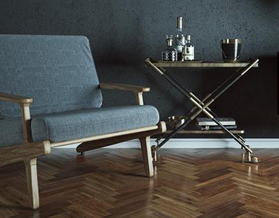 Chillout place / Interior design