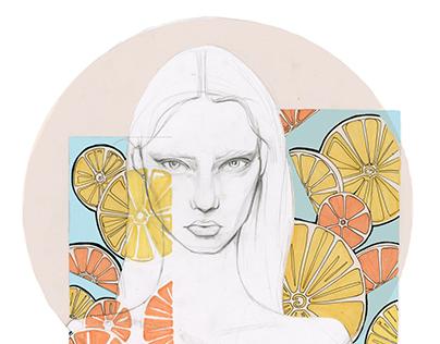 Fashion Illustration- Fabric Print Project