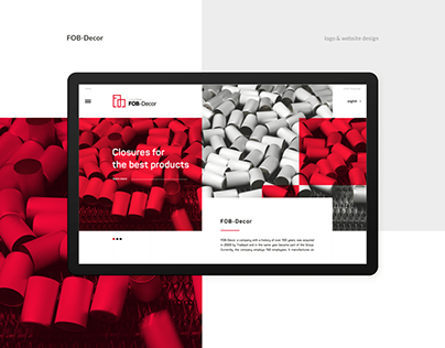 FOB-Decor - Branding and Web design