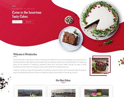 Online Cake Website Design & Development