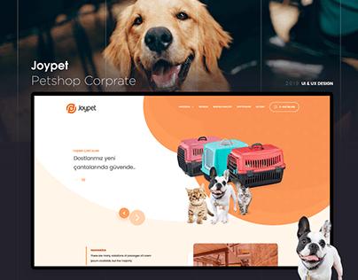 Joypet Eticaret UI / UX Tasarım
