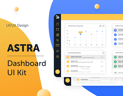 Astra Dashboard UI Kit
