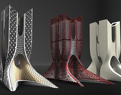 Complex Tower - Exact Architectural Studio