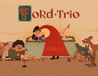 Ford Trio : Self-Titled Album Cover
