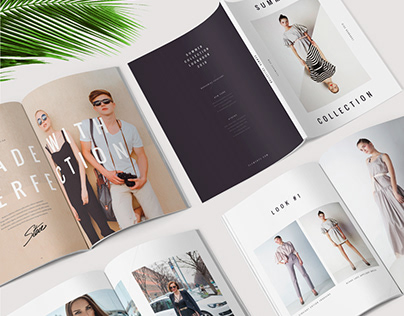 Fashion Lookbook / Magazine / Brochure Template