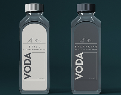 Mineral Water Packaging Design