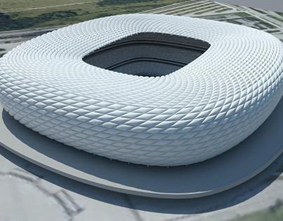 Allianz Arena - Parametric Model Study