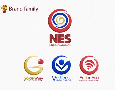 NES Educacional - Brand Family