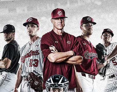 Gamecock Baseball poster