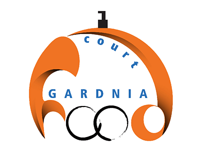 gardinia  food court logo