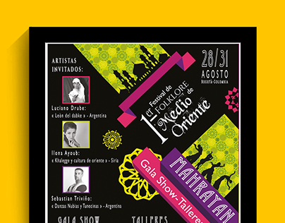 Mahrayan Festival 1st Edition 2014 Bogota - Colombia