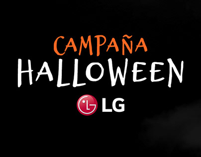 Campaña digital | Halloween 2019 | LG Electronics