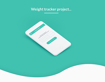Weight tracker project-Pregbuddy app-UI concepts