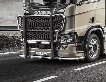 Trucks CGI shots