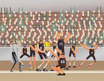 Lunapark Film Basketball Team