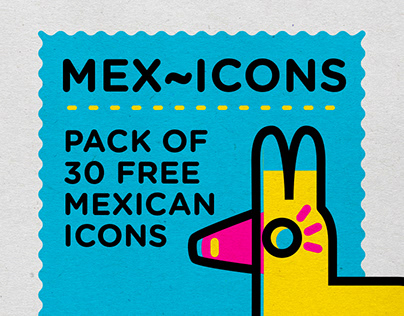 Mex~icons Icon Design