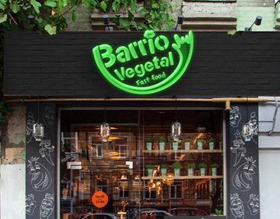 """Barrio Vegetal """"Fast Food Saludable"""""""