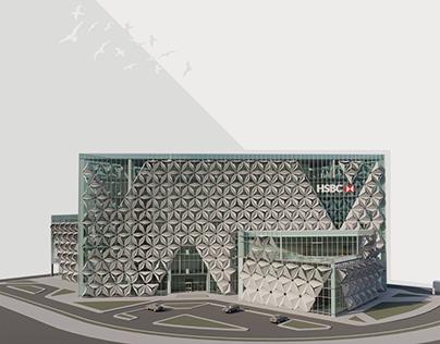 HSBC New Alamein Headquarters & Branch
