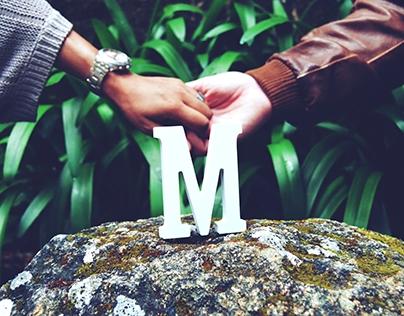 Sessão fotográfica com Susana e Mário