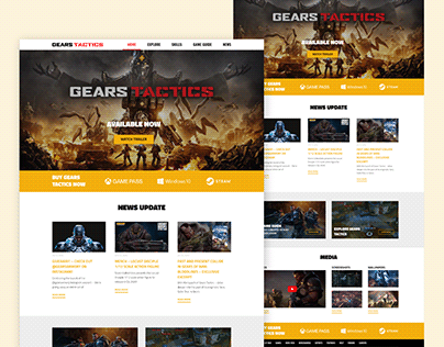 Gears Tactics - White Version