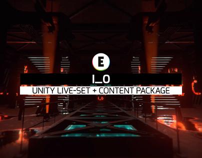 IO - Unity Live-Set + Content Package