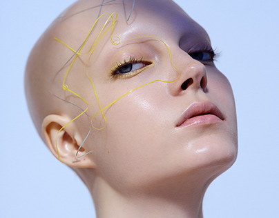 Tangled. Beauty Editorial