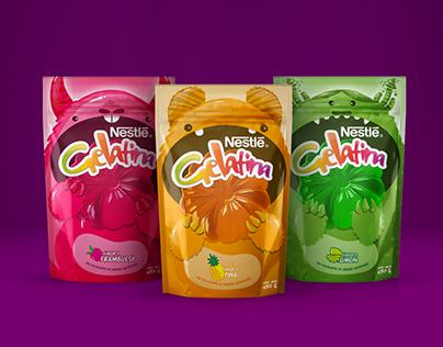 Package design, Nestle Jelly