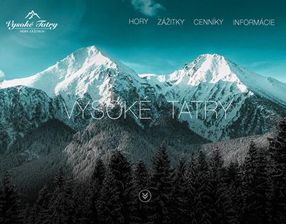 Website - Vysoké Tatry