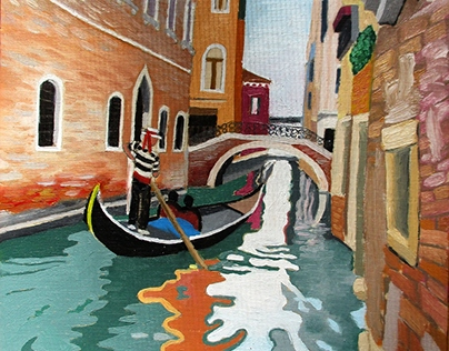 Venetian Reflection--SOLD