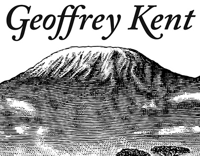 Geoffrey Kent Safari Logo rendered by Steven Noble