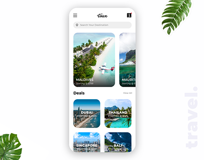 Travel UI Concept