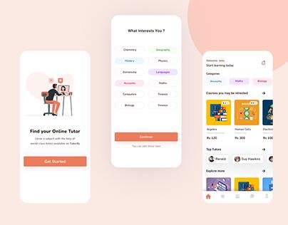 Online Tutor app